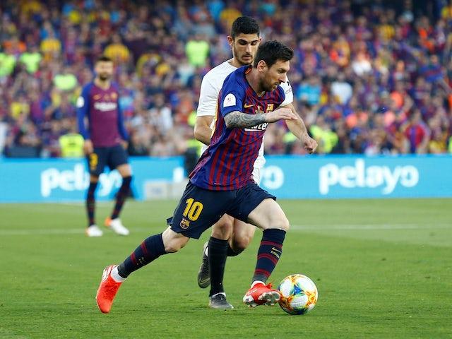 Messi İspaniya Kubokunda rekorda imza atdı