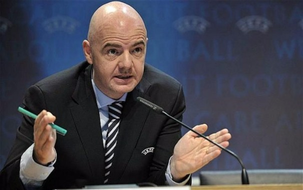İnfantino yenidən FİFA prezidenti seçildi