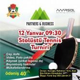 Növbəti Stolüstü Tennis Turnirimiz gəlir!